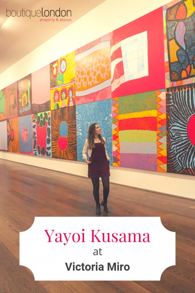 Yayoi Kusama at Victoria Miro Pinterest (2)