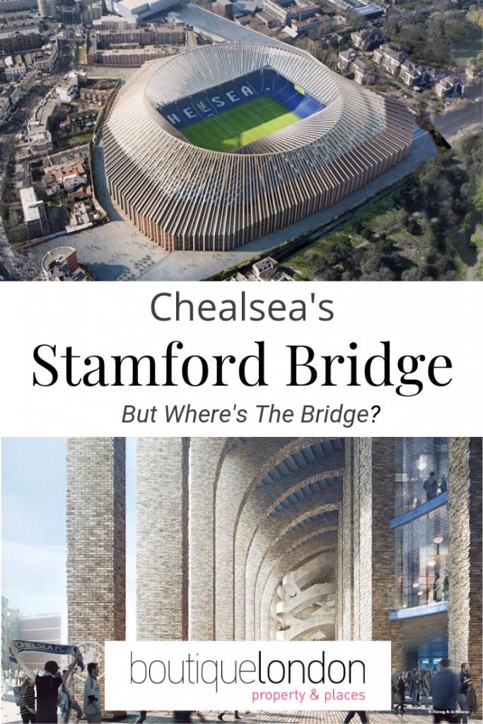 Chelsea's Stamford Bridge Pinterest