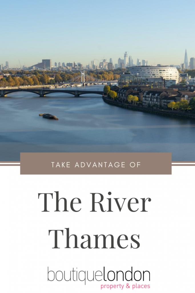 Take advantage of the Thames Pinterest