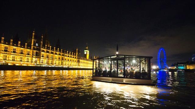 River Thames Bateaux London dinner cruise
