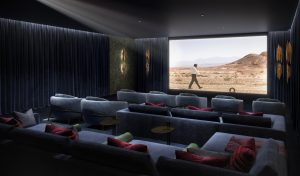 Triptych Bankside's on-site cinema