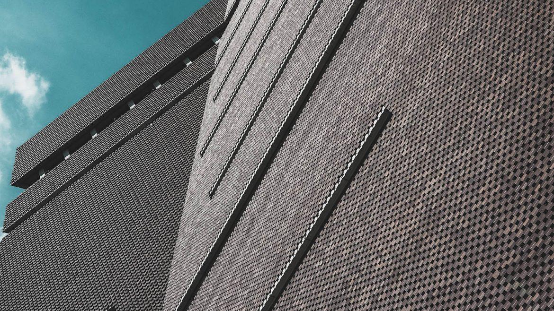 Tate Modern exterior close up