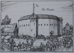 The Theatre by Walter C. Hodges (Courtesy of Cambridge University Press)