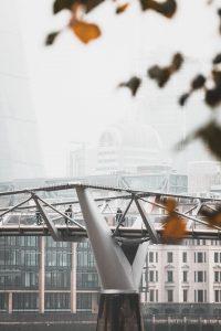Millennium Bridge design close-up