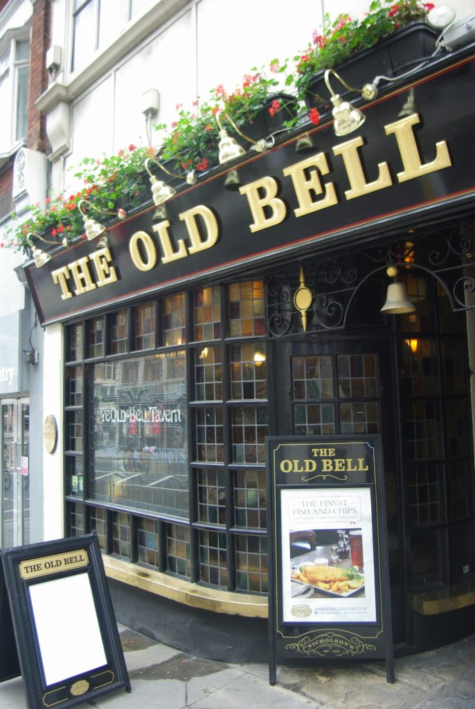 The Old Bell Tavern exterior