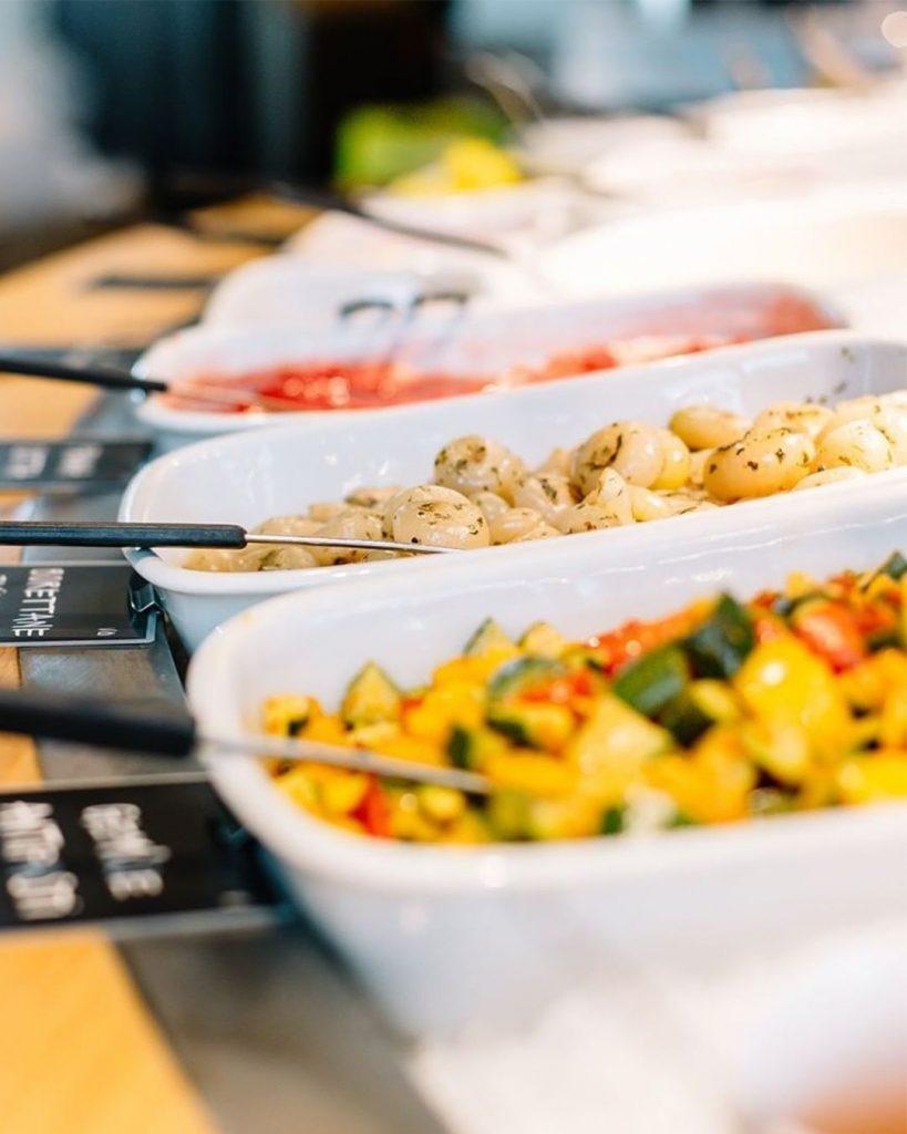 Tibits vegan buffet in Bankside