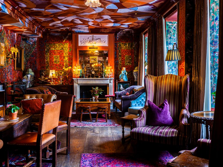 The Zetter Townhouse cocktail lounge