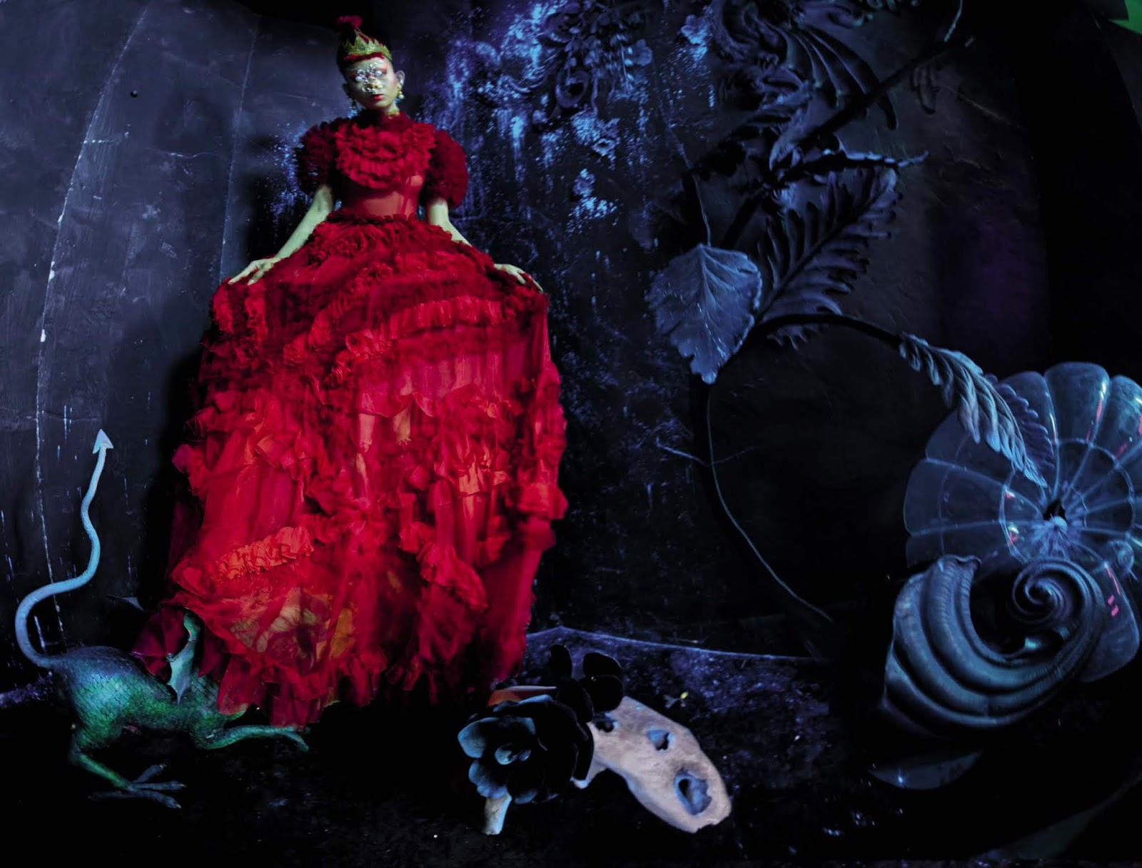 Lil' Dragon by Tim Walker