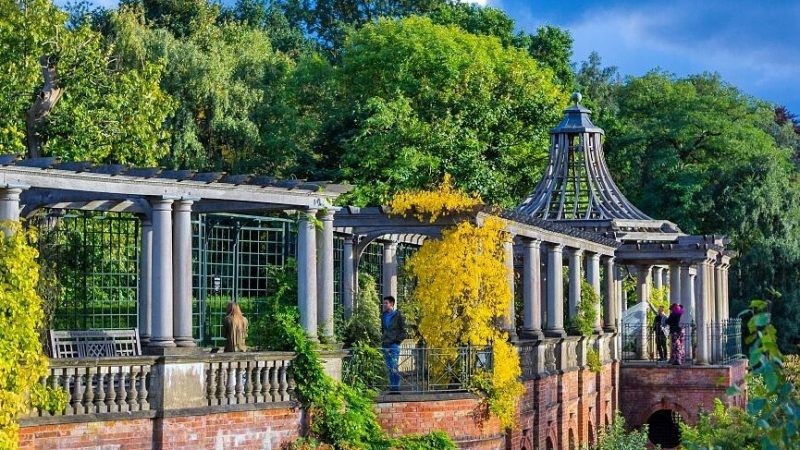 hampstead heath pergola