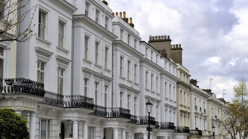 Residential houses in London