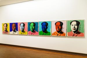 Andy Warhol Mao Tse-Tung Paintings At Albertina Museum In Vienna